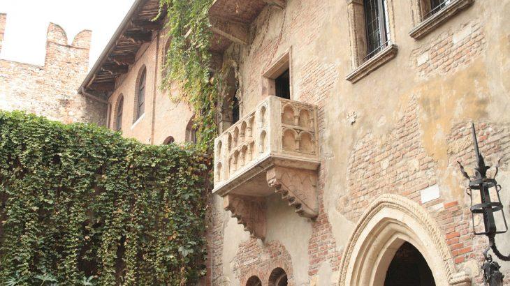 Il balcone di Giulietta a Verona