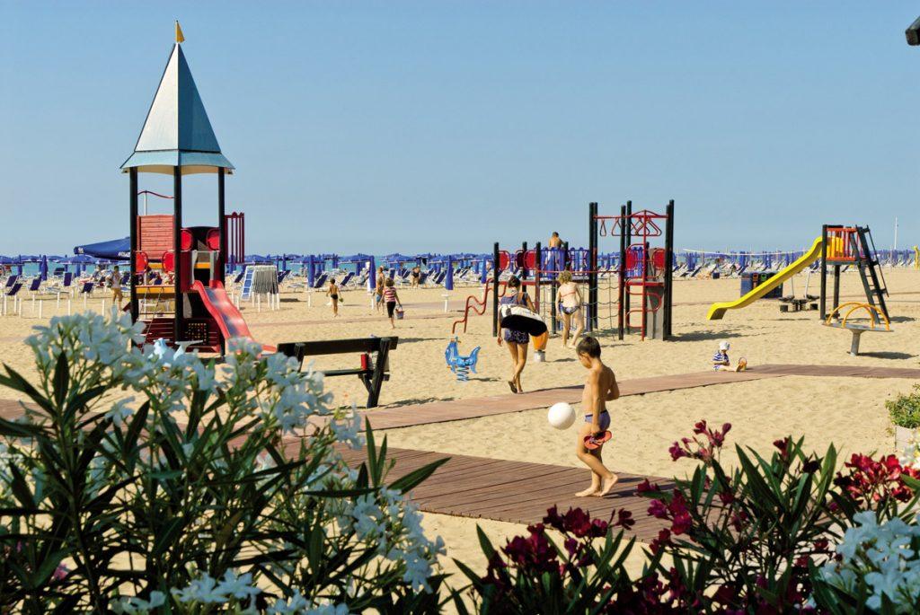 spiagge a misura di bambini
