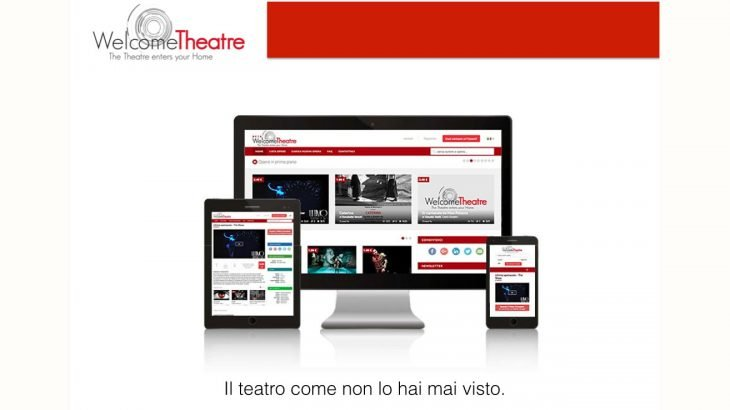 WelcomeTheatre: il teatro ora è online